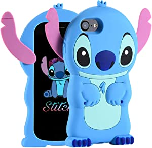 FINDWORLD Cases for iPhone 8 Plus/7 Plus/6S Plus /6 Plus Case, Cute 3D Cartoon Soft Silicone Animal Shockproof Anti-Bump Protector Boys Kids Gifts Cover Housing for iPhone 8 Plus/7 Plus/6 Plus