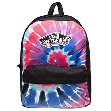 Mochila Vans Realm Backpack Tie Dye Negro Sin Talla: Amazon ...