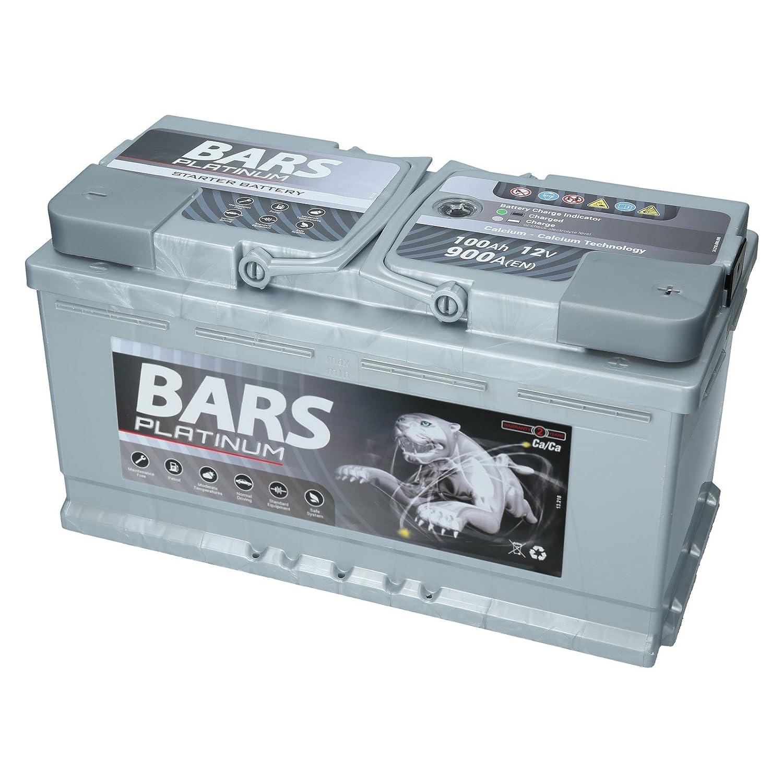 Autobatterie 12v 100ah 900a Bars Platinum Starterbatterie