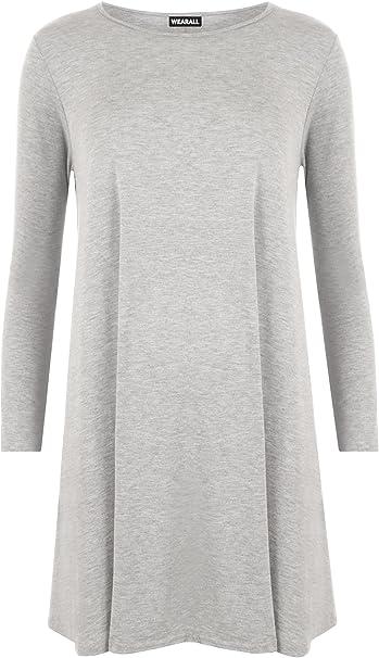 NEU Übergröße tolles Damen Langarm Stretch Shirt in schwarz Gr.44//46,48//50,52//54