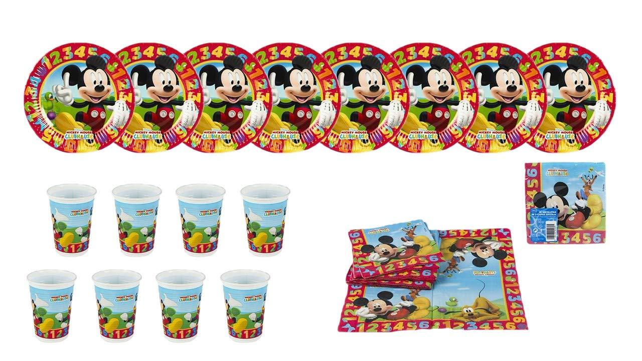 ALMACENESADAN 2440; Pack Fiesta y cumpleaños Disney Mickey ...