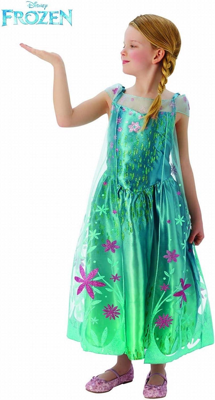 Frozen- Disfraz infantil, Color turquesa, S (Rubies 610907 ...