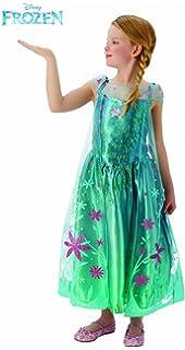 Disney Store Frozen Fever 2 en 1 Elsa & Anna disfraz niñas 7/8 ...