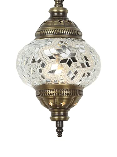 Amazon.com: Handmade Pendant Ceiling Lamp Mosaic Shade, 2019 ...