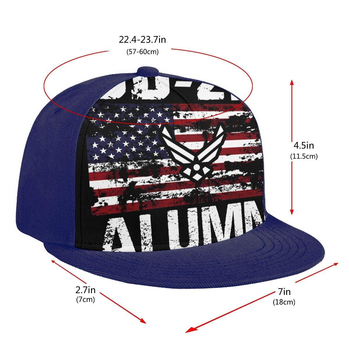 DD-214 Alumni US Armed Forces USA Flag Unisex Adult Hats Classic Baseball Caps Peaked Cap