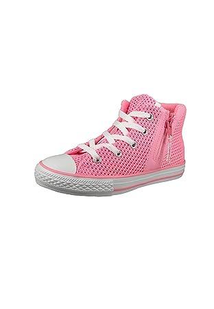 52a15dcedb Converse Chucks Kinder 656060C Chuck Taylor All Star Sport Zip Crochet HI  Pink Glow Neo Pink