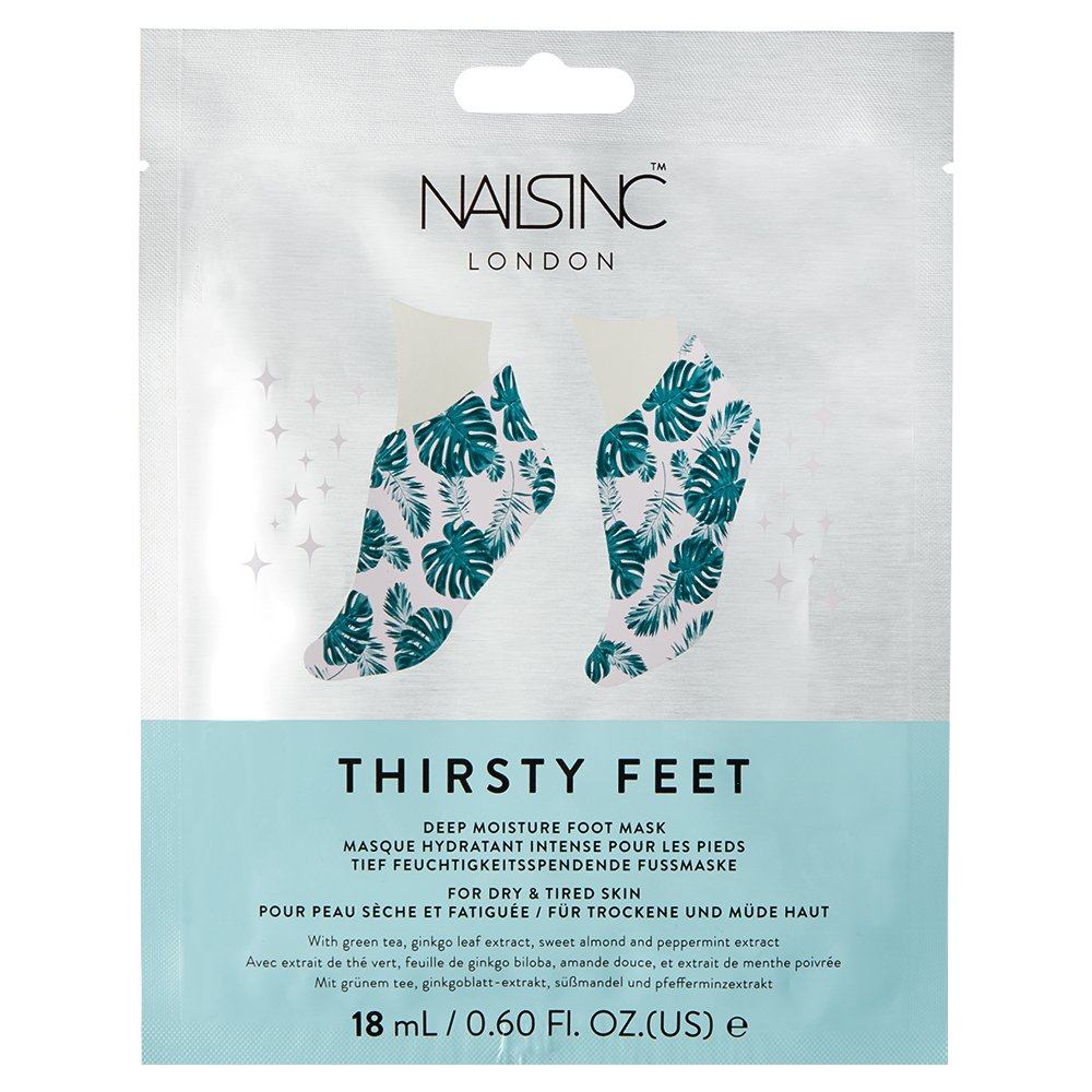 Nails Inc Thirsty Hands, Super Hydrating Mask Super Hydrating Foot Mask 10481