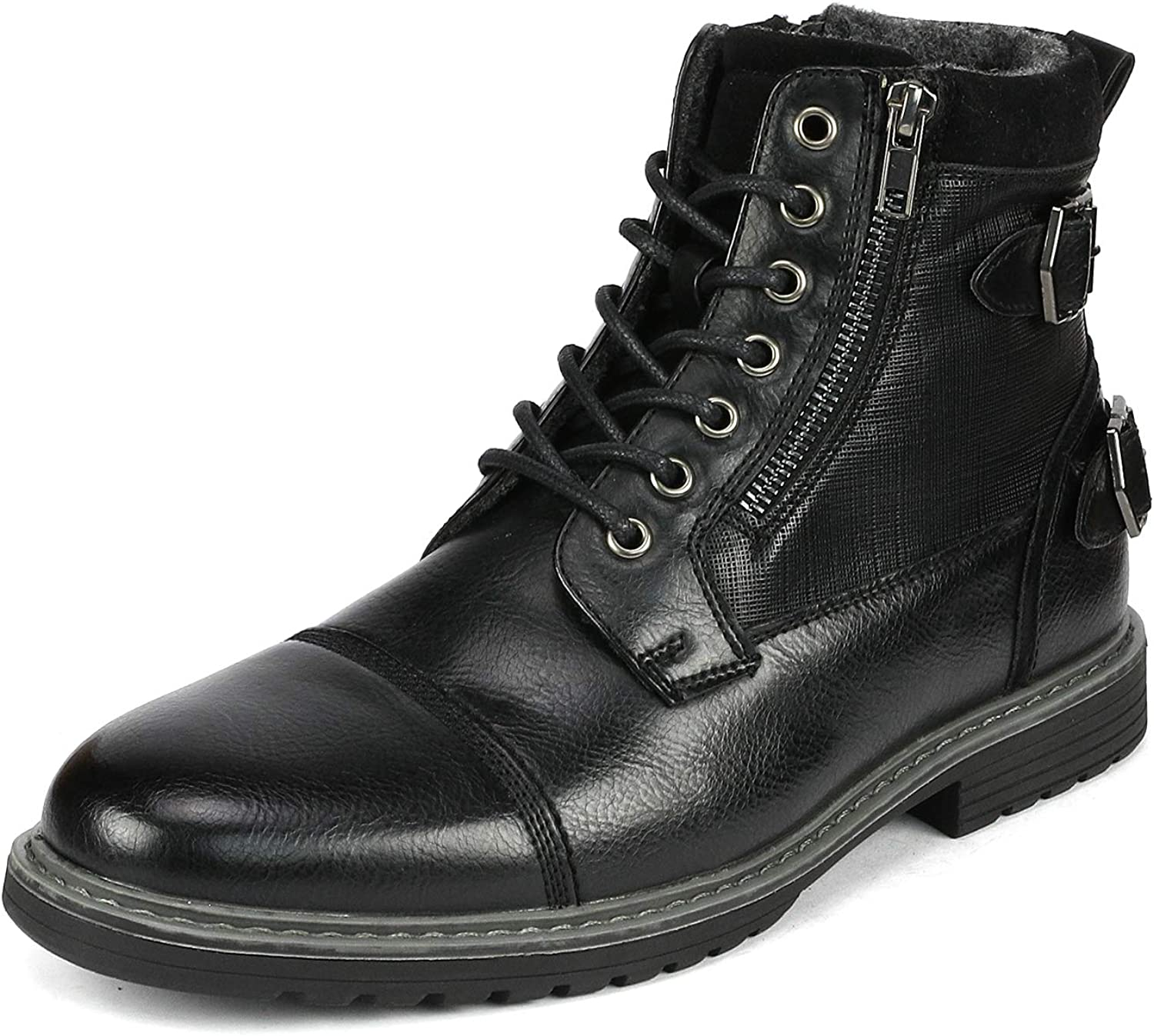 Bruno Marc Mens Dress Ankle Boots Cap Toe Oxford Boot