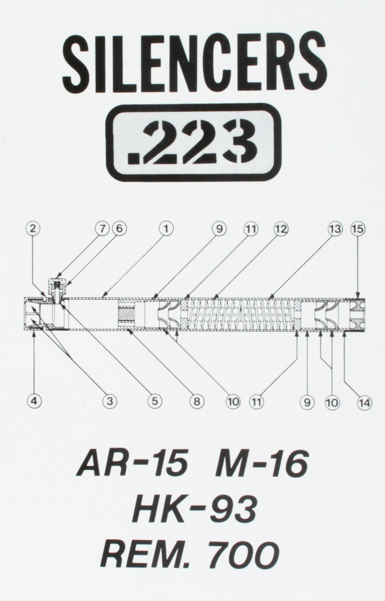 Astounding Silencers 223 Ar 15 M 16 Hk93 Remington 700 Desert Pub Wiring Digital Resources Otenewoestevosnl