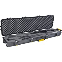 Plano 108190 Gun Guard AW Double Scoped Rifle Case with Wheels