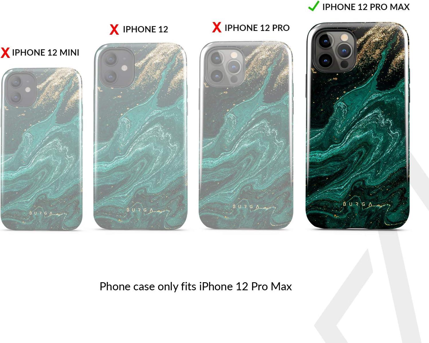 Burga Hülle Kompatibel Mit Iphone 12 Pro Max Handy Elektronik