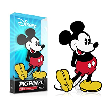 Figpin XL Disney Classic Mickey Mouse Collectible Pin #X32: Toys & Games