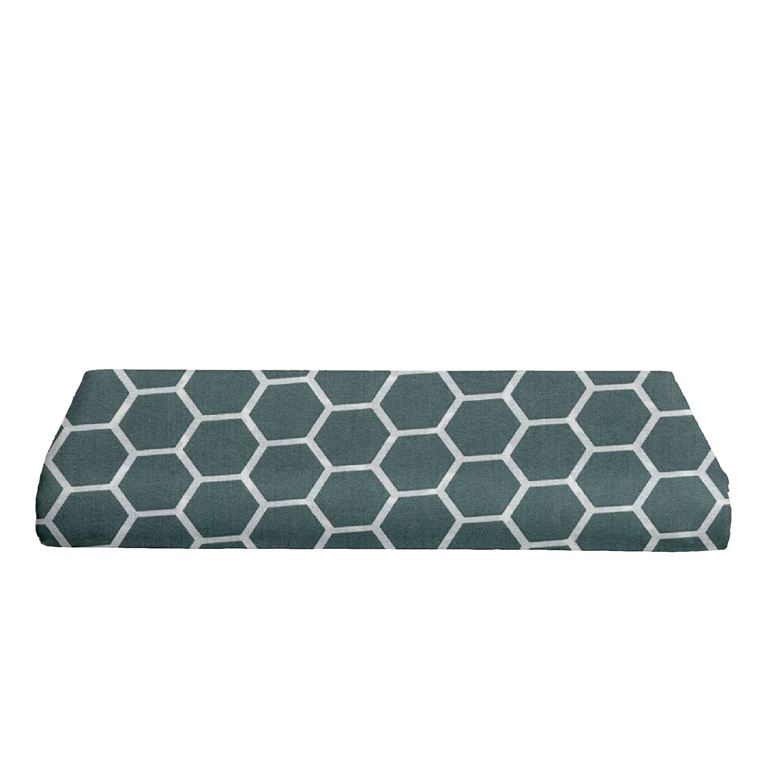 Honeycomb Spa Blue BKB Changing Pad Cover