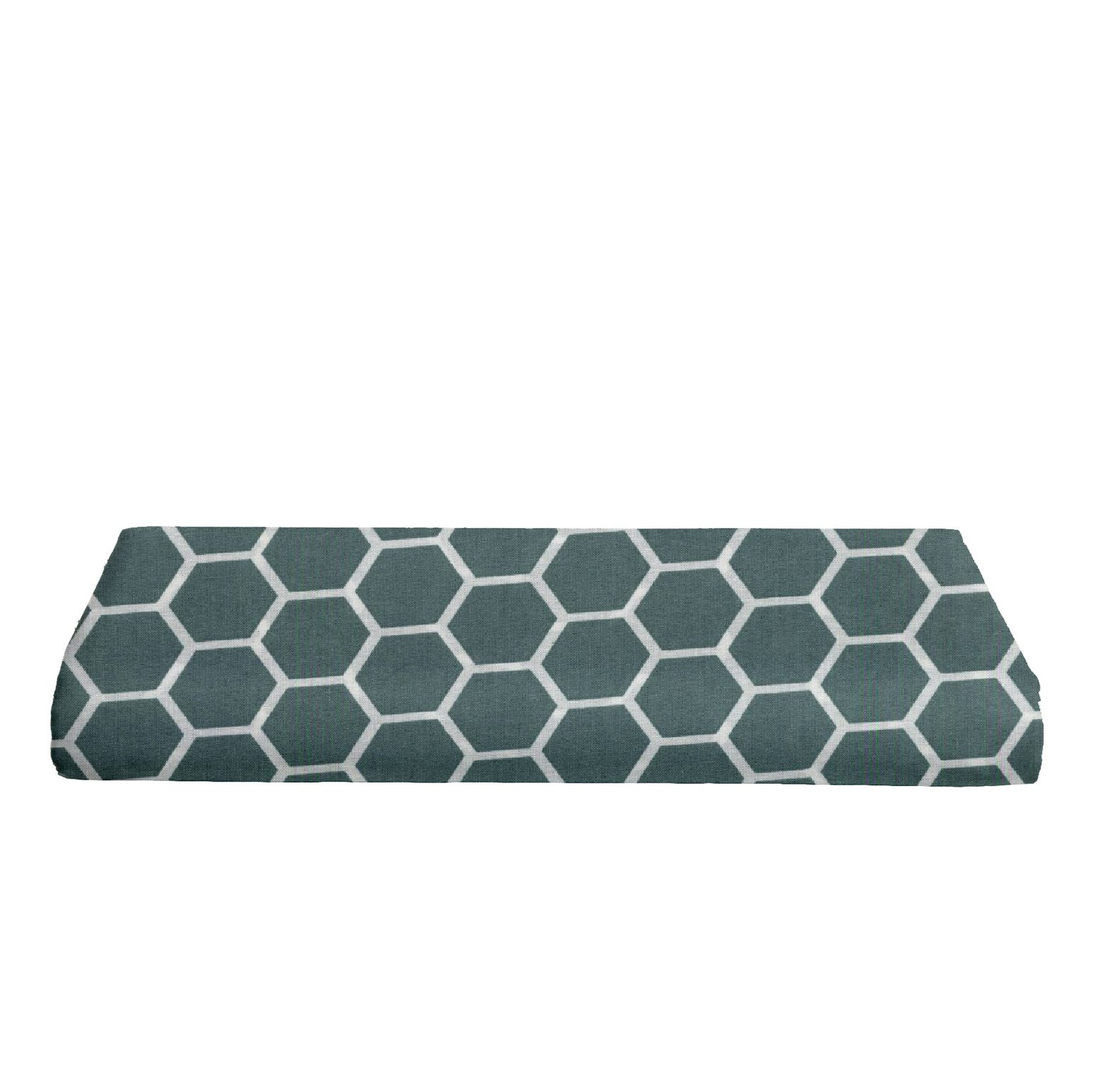BKB Changing Pad Cover, Honeycomb Spa Blue