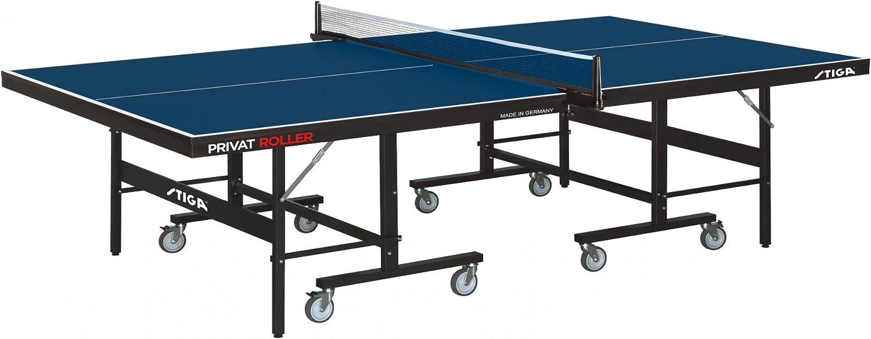 Stiga Mesa Ping Pong privat Roller Azul: Amazon.es: Deportes y ...