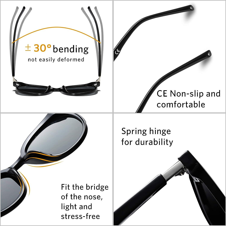 ipow Occhiali da sole da donna Polarizzate Sunglasses Protezione in UV400 Visione HD