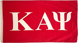 Kappa Alpha Psi Letter Fraternity Flag Greek Banner Large 3 feet x 5 feet Sign Decor Nupe