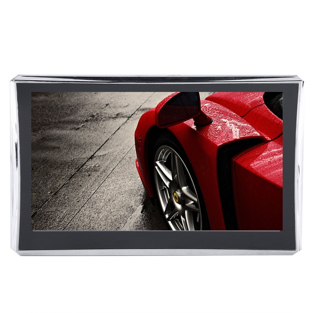 Qii lu 7 Inch Touch Screen Car Navigator GPS Navigation 256M 8GB FM Bluetooth(North America)