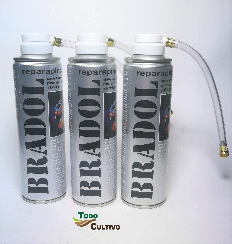 Todo Cultivo Bradol antipinchazo. Pack de 3 Unidades. Spray repara ...