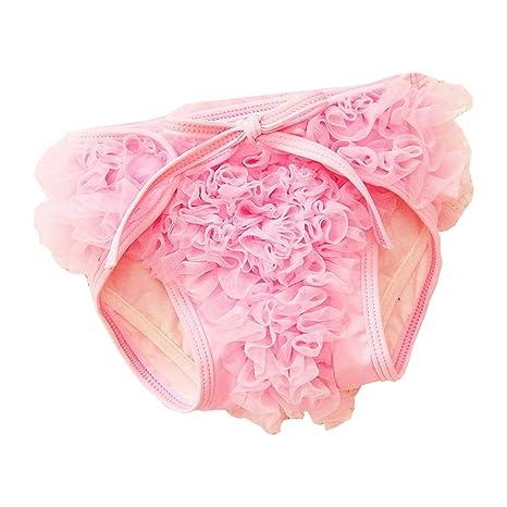 babyicon bebé niñas encaje ropa interior de natación nadar pañales Bañador de hombre Swiming pañales rosa