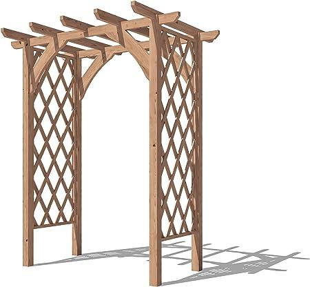 Dunster House Pergola Enrejado Arco de Madera para Plantas de jardín – JasmineTM: Amazon.es: Jardín