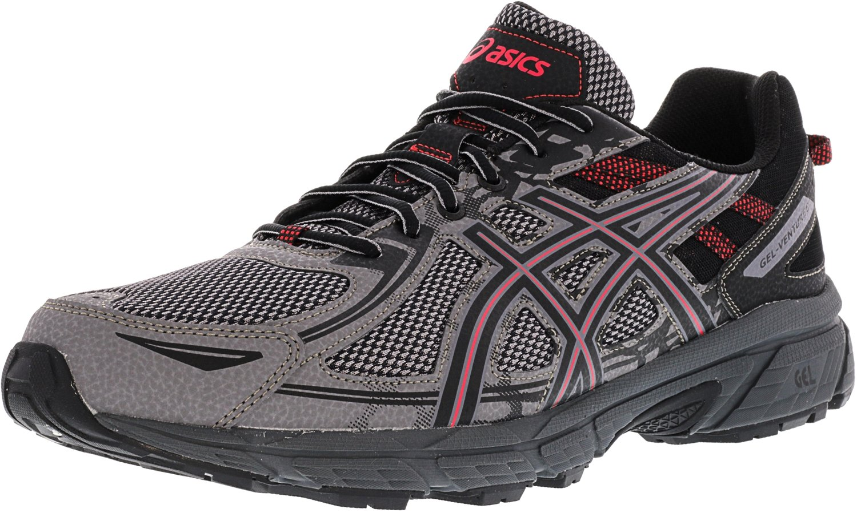 ASICS Men's Gel-Venture 6 Carbon/Cayenne Ankle-High Running Shoe - 9M
