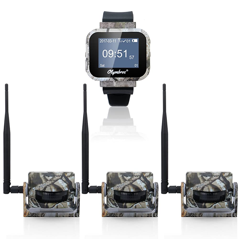 9. Olymbros Z3 Trail Monitor