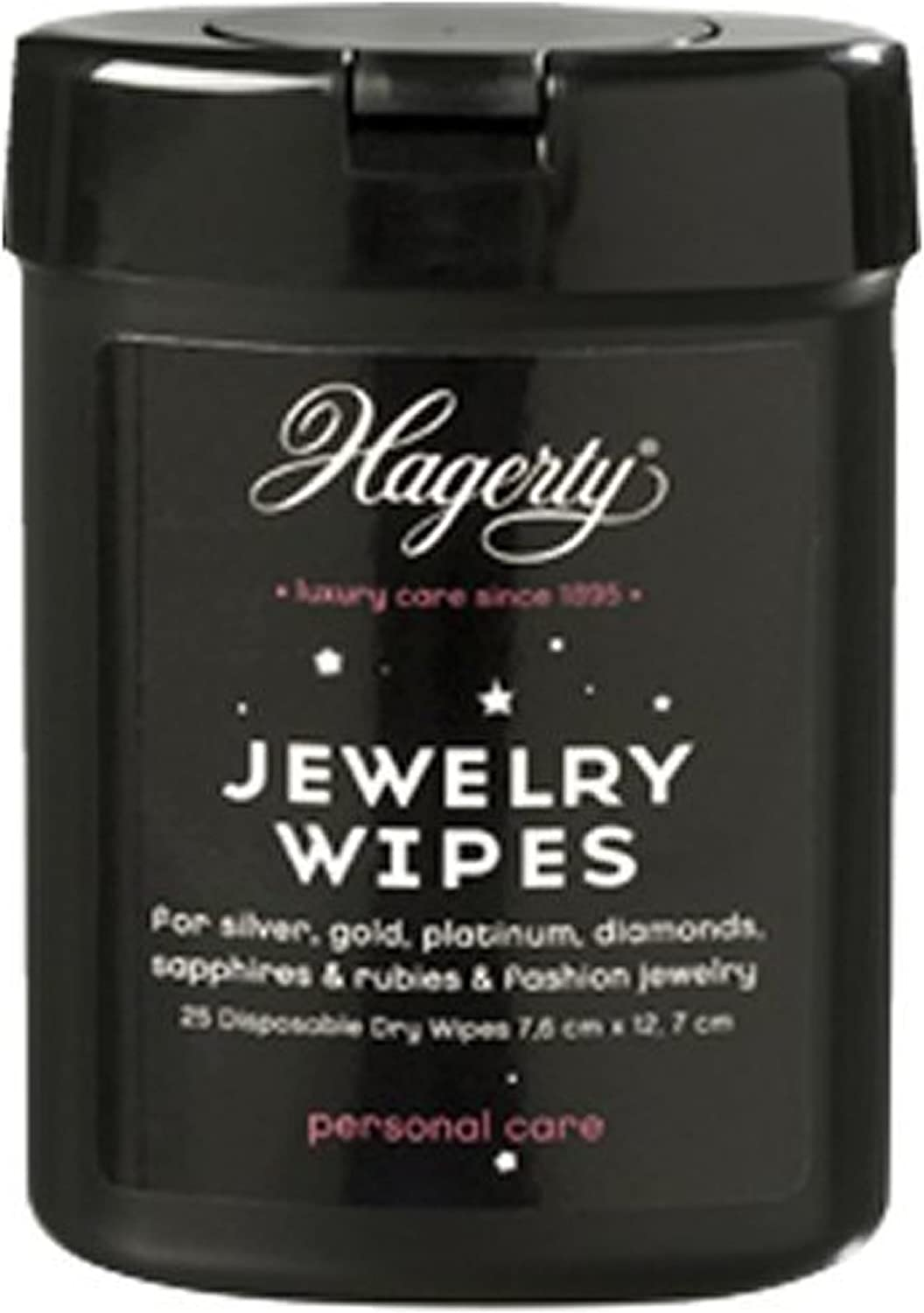 Lingettes pour nettoyer les Bijoux Jewelry Dry Wipes Hagerty