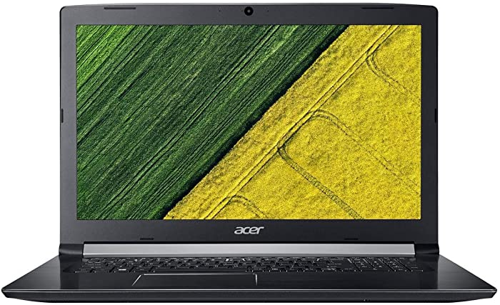 Acer Aspire 5 A517-51G-54GK 17.3 Inch Full HD Laptop, 7th Core i5-7200U 2.5GHz, 8GB DDR4 RAM, 256GB SSD, NVIDIA GeForce 940MX with 2GB GDDR5, 802.11ac, Bluetooth, HDMI, Windows 10H