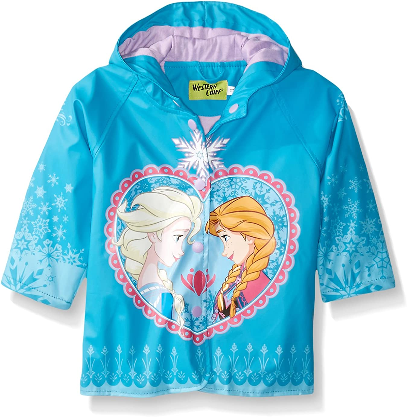 Western Chief Kids Disney Character lined Rain Jacket Ariel Disney Princess 6