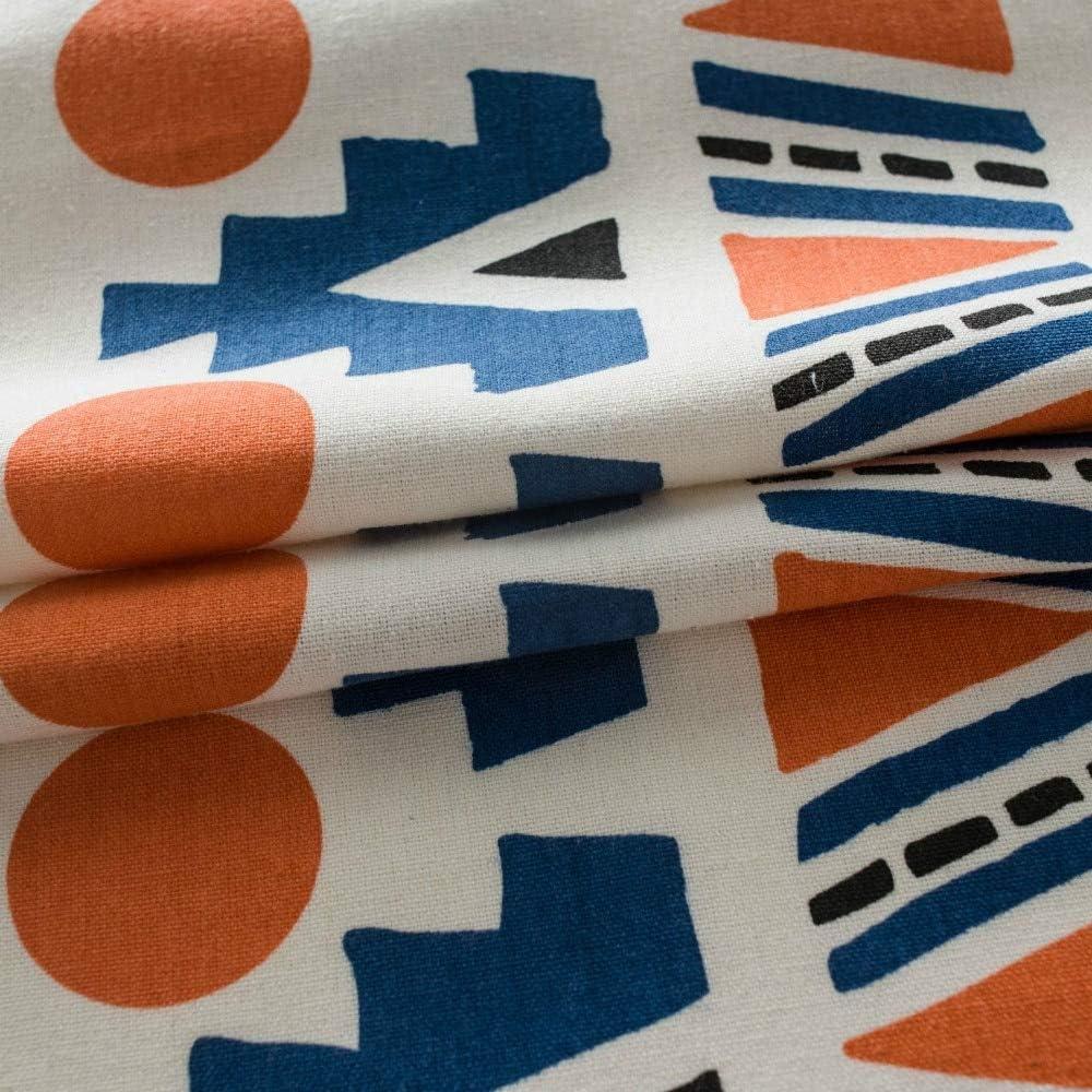 POL Vorhang Farbe Wolle Ball Druck Vorh/änge Boho Style Wohnzimmer Schlafzimmer Blackout Vorh/änge Erker Vorh/änge 150x220cm Wie Gezeigt