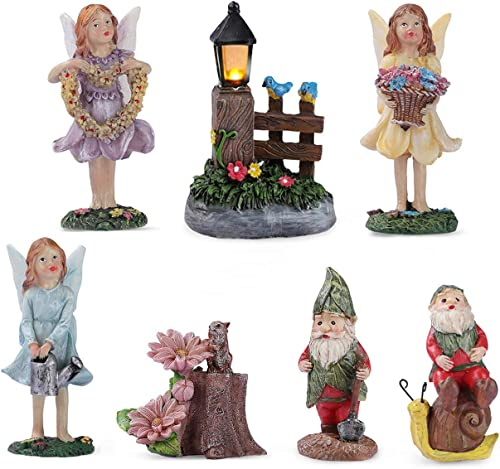 Enchanted Fairy Garden Accessories Outdoor