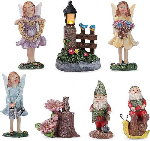 Enchanted Fairy Garden Accessories Outdoor
