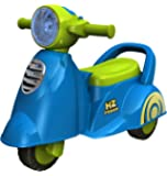EZ' PLAYMATES Baby Ride ON Italian Scooter Blue
