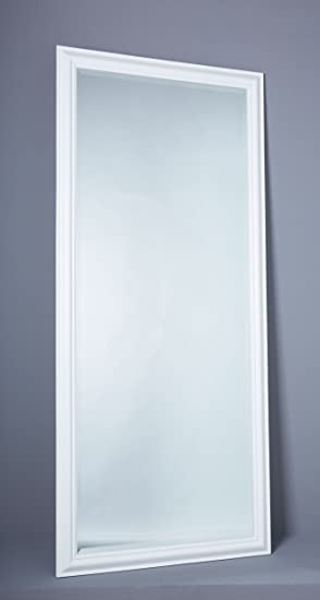 Wholesaler Gmbh Wandspiegel Spiegel Flurspiegel 180 X 80 Cm Weiß