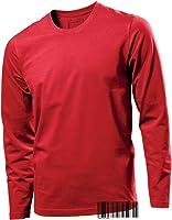 Tagless 100% Cotton Long Sleeve Crew Neck T-shirt - Underhood of London
