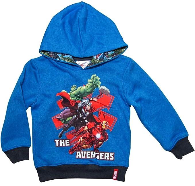Marvel - Avengers - Sudadera con Capucha - para niño Azul 140/146 cm