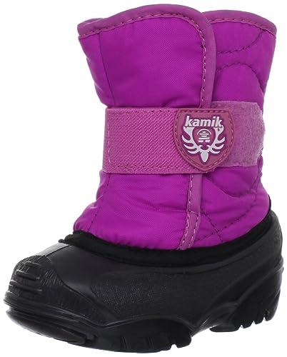 Kamik Snowbug F Girls' Infant-Toddler Boot 9 M US Toddler Navy CBICGB