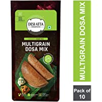 DESI ATTA COMPANY MULTIGRAIN DOSA Mix PP 200g, (Pack of 10)