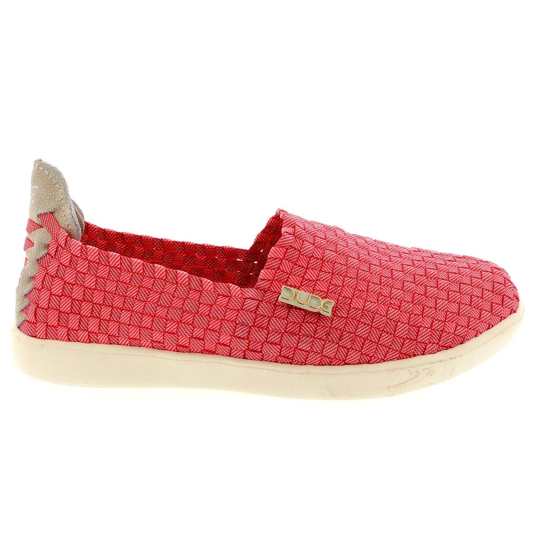 Descontar Más Reciente El Envío Libre De Moda Dude Shoes Women's E-last Simple Coral Slip On UK5 / EU38 EtiRb310