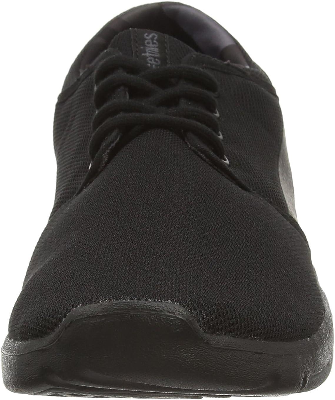 Etnies Herren Scout Sneaker, grün/weiß, 44 EU Black Black Grey Black005