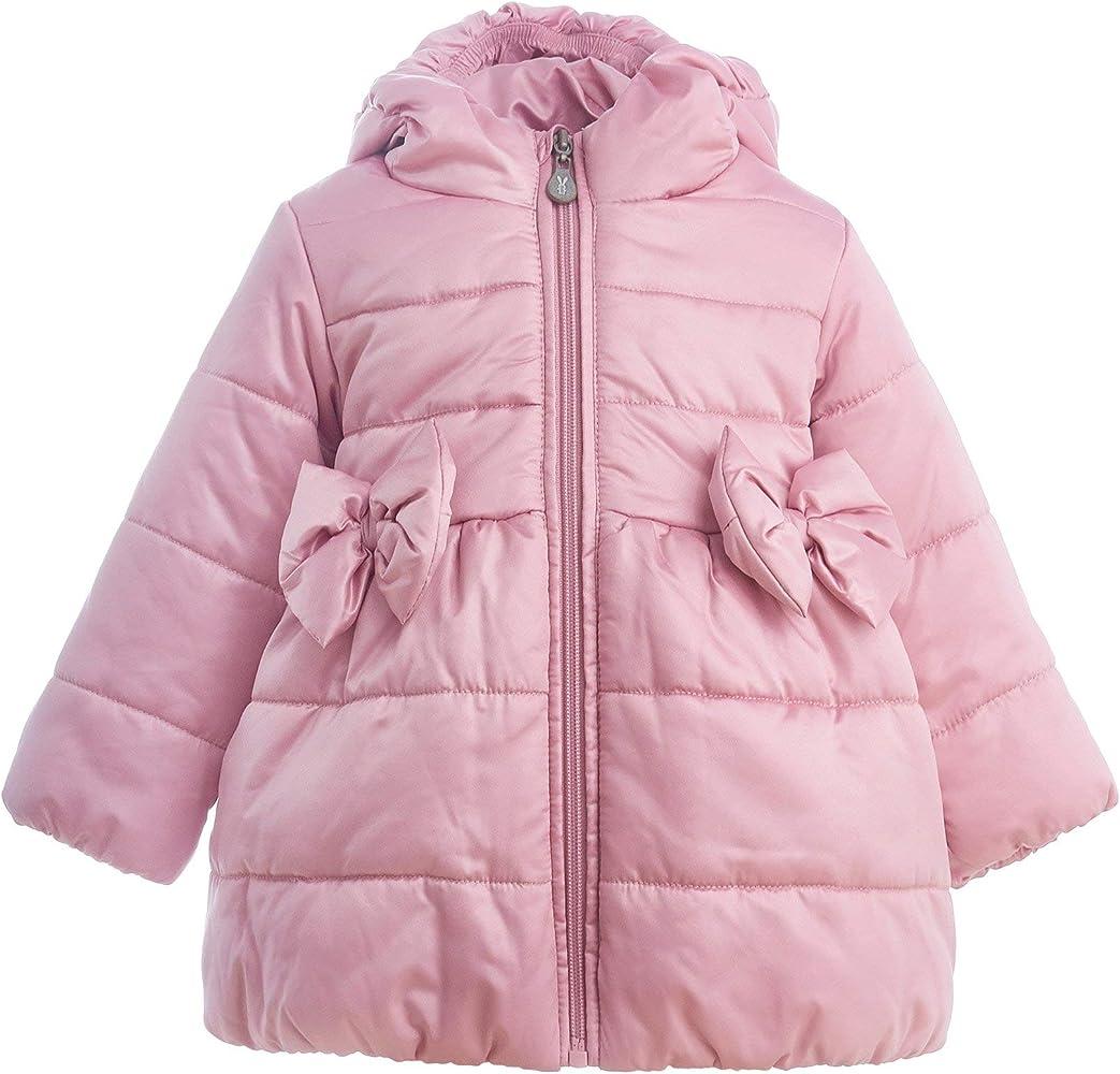 GULLIVER Guliver - Abrigo de Plumas para niña, Color Rosa, Largo ...