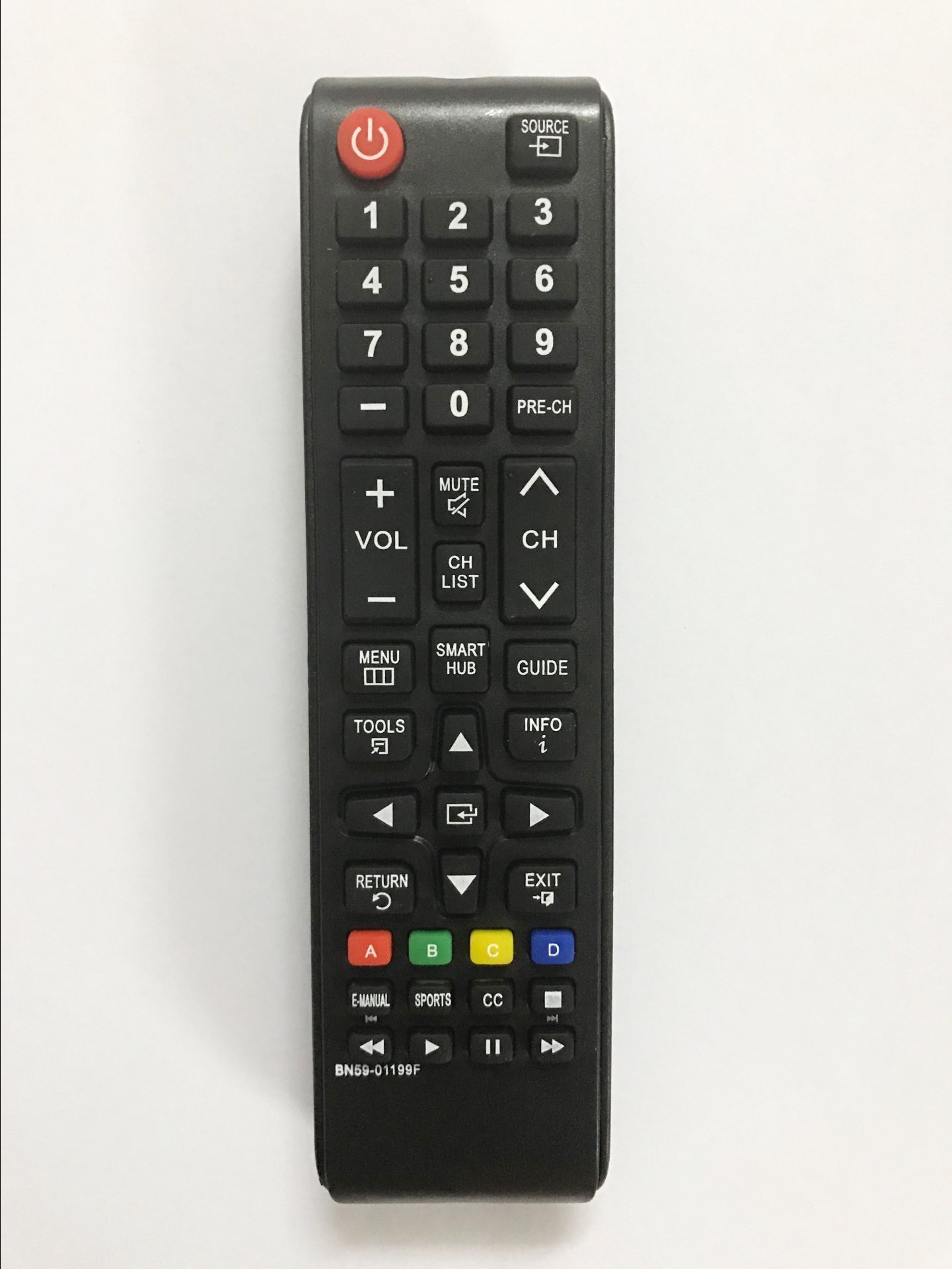 Replacement Remote Controller use for UN50J5200 UN50J5200AF UN50J5200AFXZA Samsung Smart LED TV