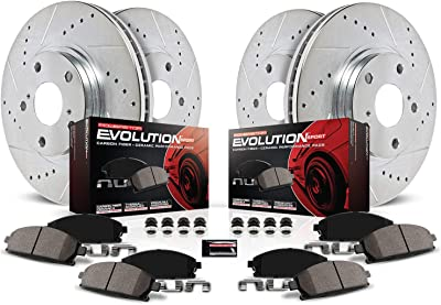 Power Stop K5828 Front & Rear Brake Kit