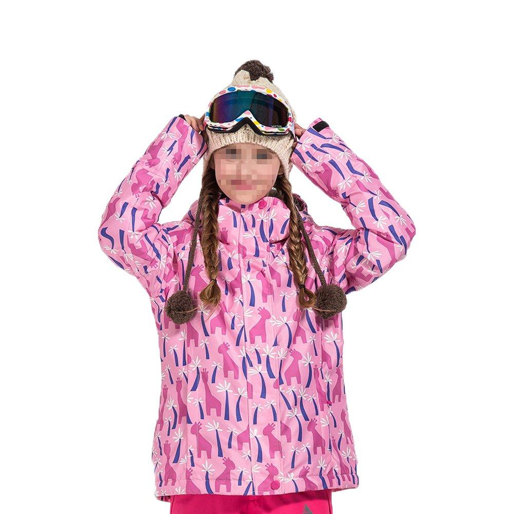 Hzjundasi 冬 アウトドア スポーツ 防水 職業 スキー ジャケット色雪コート 暖かい ために子供 B077QJXXBS 120|Color 3 Color 3 120