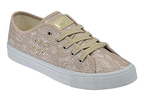 0d741e71cd2be Liu Jo Pizzo Taupe Sneakers Nuovo Tg 39 Scarpe Do.  Amazon.it  Scarpe e  borse