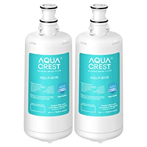 AQUACREST F-601R Filter Cartridge, Compatible with Insinkerator F-601R Filter Cartridge (Pack of 2)