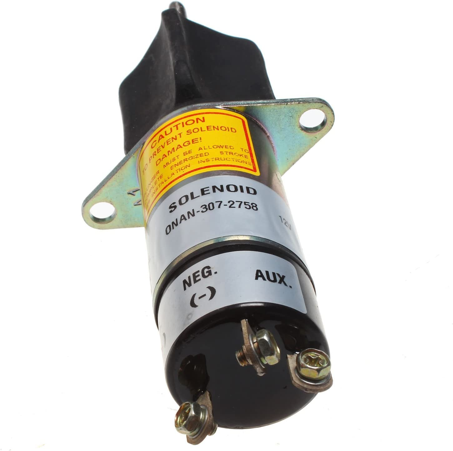 Mover Parts Solenoid 307-2758 w//Three Terminal 12V for Miller Welders,AEAD 200LE,Legend etc