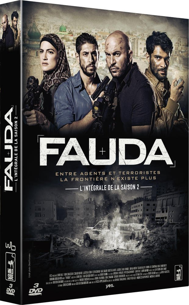 FAUDA Season 2 Import French, Arabic and Hebrew NO ENGLISH