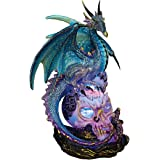 Design Toscano Dragon Assassin Illuminated Sculpture